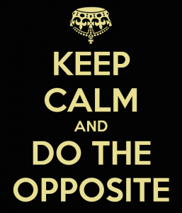 Whatever Everyone Else is Doing, Do the Opposite!